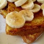 french toast banana Tcfle