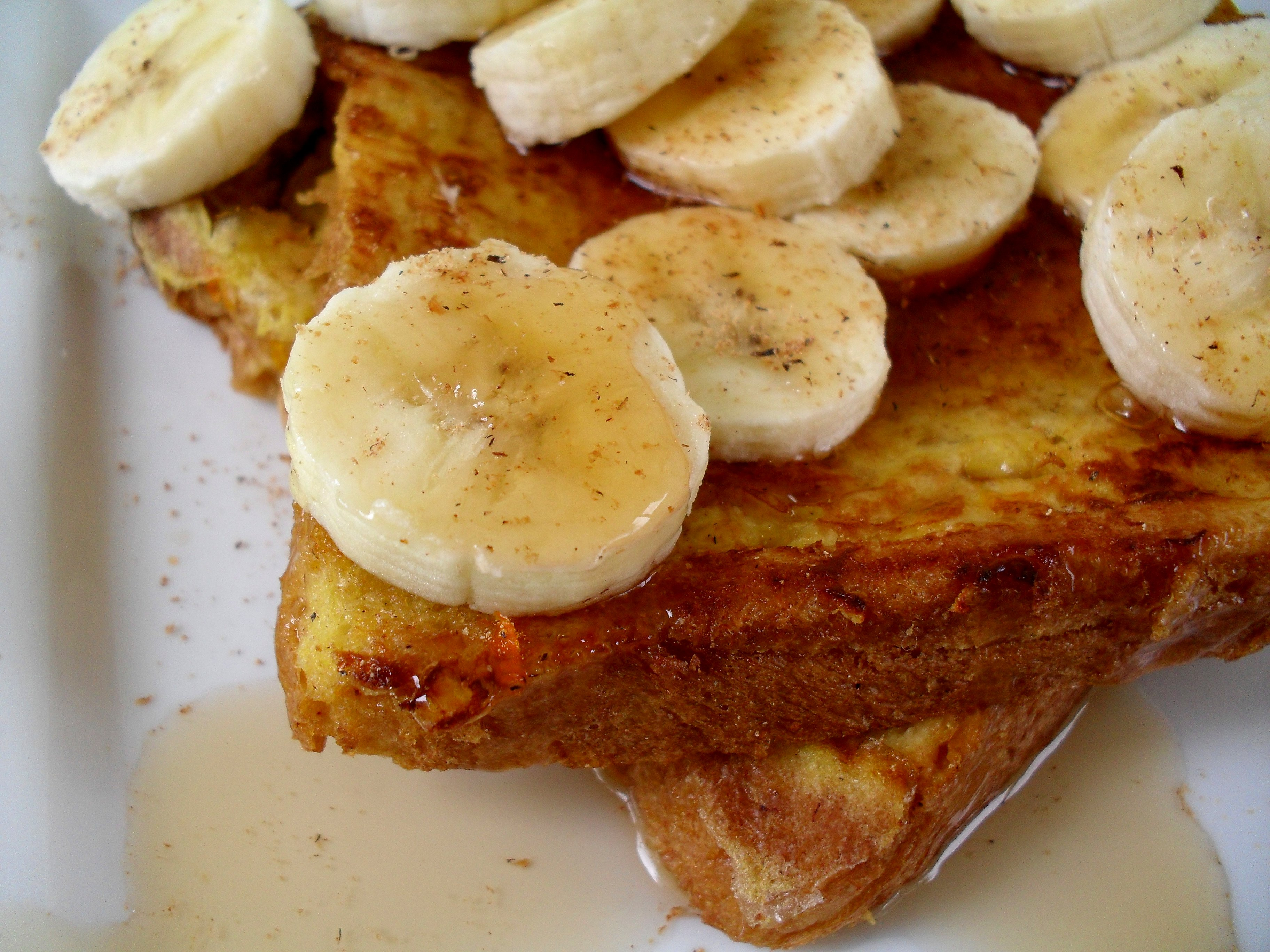 French Toast Banana Tcfle Ps2: If I Have Some Left Over Fruit That I Can  Cook Down To Make A Nice Yummy Fruitpote, Spice It Up With Cinnamon,